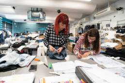 Ideal Blue: manifattura tessile industriale in Italia